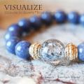 天然石 パワーストーン|スティブナイトインクォーツ ブルーアベンチュリン ヴィジュアライズ ブレスレット