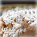 天然石 パワーストーン|  水晶 tトルマリン パワーストーンブレスレット ブレスレット  クリアクォーツ