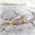 天然石 パワーストーン|  水晶 トルマリン パワーストーンブレスレット ブレスレット  クリアクォーツ
