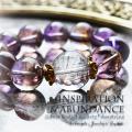 天然石 パワーストーン|シルバールチルクォーツ アメトリン インスピレーション アバンダンス 直感 パワーストーンブレスレット
