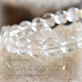天然石 パワーストーン|水晶 カンチェンジュンガ産 ヒマラヤ産 ヴェーダ水晶 クリスタル ブレスレット アーキエンジェルズ