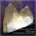天然石 パワーストーン|水晶 カテドラル 原石 ポイント ライト 間接照明 浄化 ランプ LED クリスタル 大分市