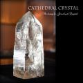 天然石 パワーストーン|カテドラル水晶 水晶 クリアクォーツ 浄化 クレンジング 原石 クリスタル アーキエンジェルズ
