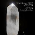 天然石 パワーストーン|水晶 レムリアンシード 原石 ポイント ライト 間接照明 浄化 ランプ LED クリスタル 大分市