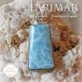 天然石 パワーストーン|ラリマー larimar ラリマール ブルー・ペクトライト ドミニカ産 ペンダント アーキエンジェルズ