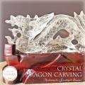 天然石 パワーストーン|ドラゴン 龍 竜 クリアクォーツ 水晶 ルチルクォーツ 針入り水晶 カーヴィング アーキエンジェルズ