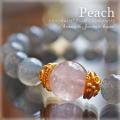 天然石 パワーストーン|モルガナイト ピンクラブラドライト 出逢い ブレス ブレスレット アーキエンジェルズ
