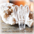 天然石 パワーストーン|レムリアンシードクリスタル エンジェル 天使 カーヴィング 原石 アーキエンジェルズ