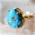 天然石 パワーストーン|アリゾナターコイズ Un mauve アンモーヴ オリジナル・ブランド リング 指輪 アーキエンジェルズ