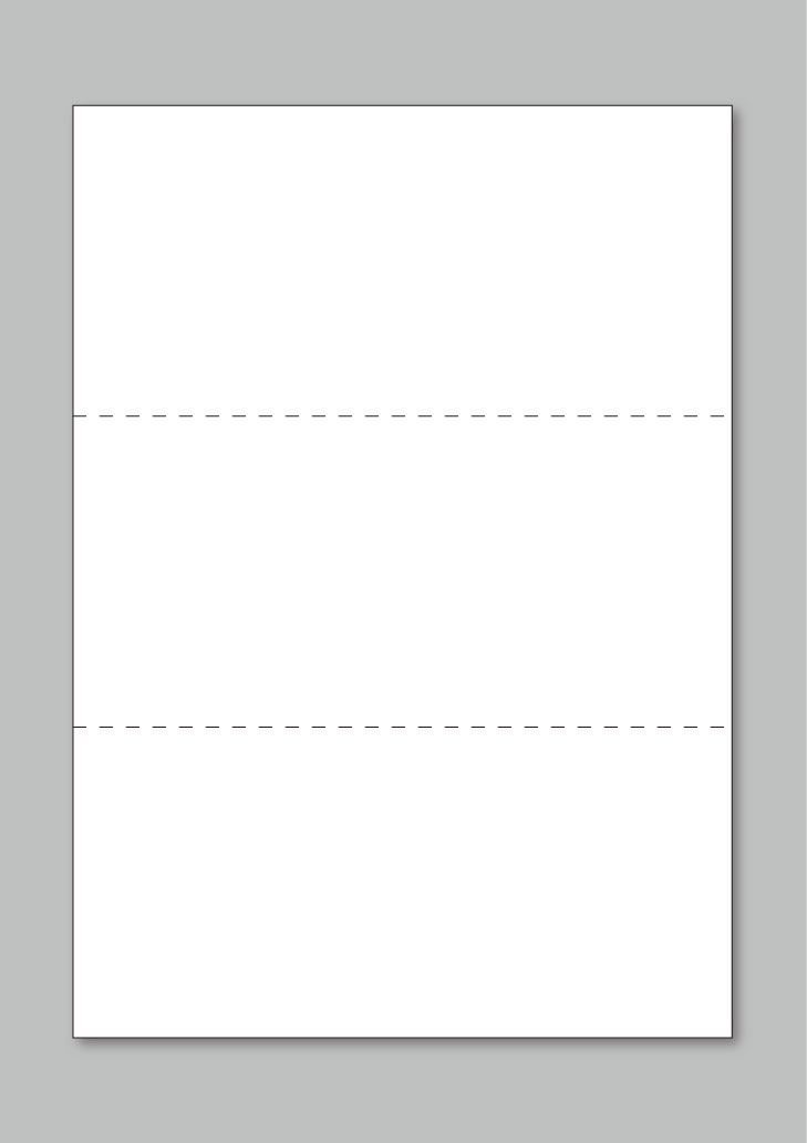 ★送料無料★コピー・印刷用紙 100枚 上質A4規格 横ミシン2本