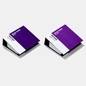 送料・代引手数料無料! Pantone Plus パントン ソリッドチップス 2冊組(コート紙、上質紙)