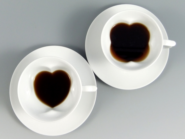 ハート イン クローバー コーヒーカップ&ソーサー