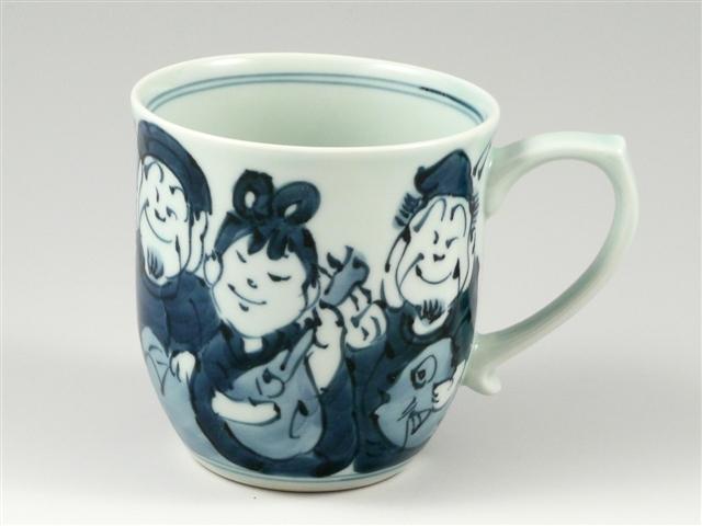 七福神 マグカップ