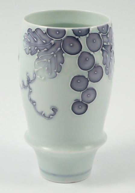 【匠の蔵 プレミアムビアグラス】 一珍ブドウ(紫)<オリジナル>