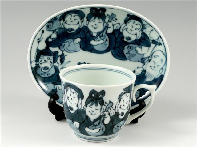 七福神 コーヒーカップ