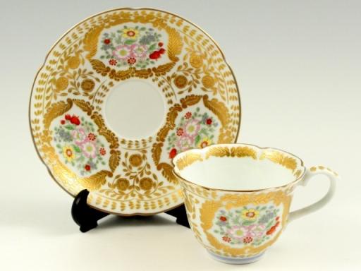 ベルサイユ(白) コーヒーカップ&ソーサー