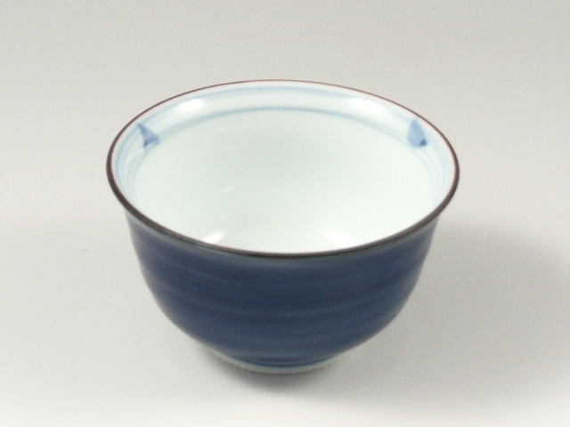 呉須巻内渦 反千茶