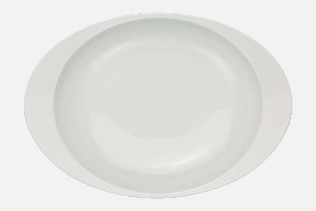 【匠の蔵 極上のカレー皿】 白磁