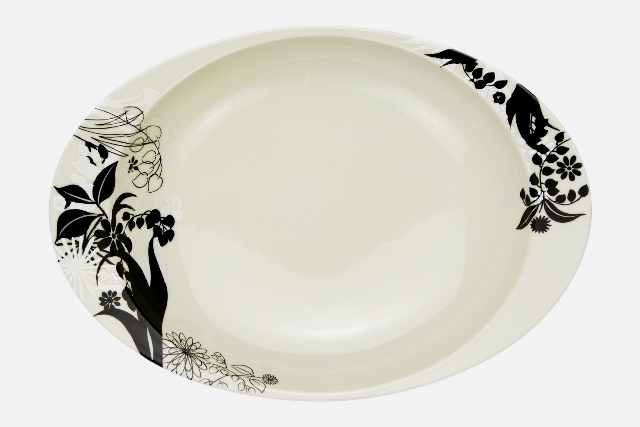 【匠の蔵 極上のカレー皿】 シルエット