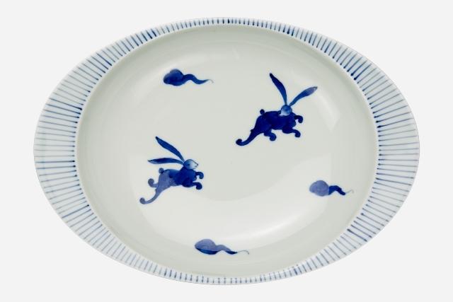 【匠の蔵 極上のカレー皿】 うさぎ