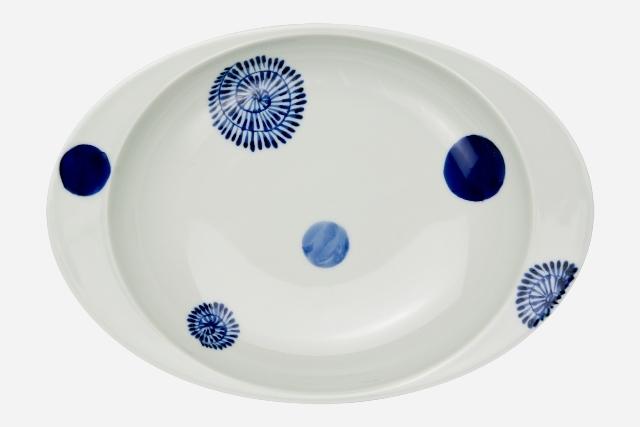 【匠の蔵 極上のカレー皿】 丸紋
