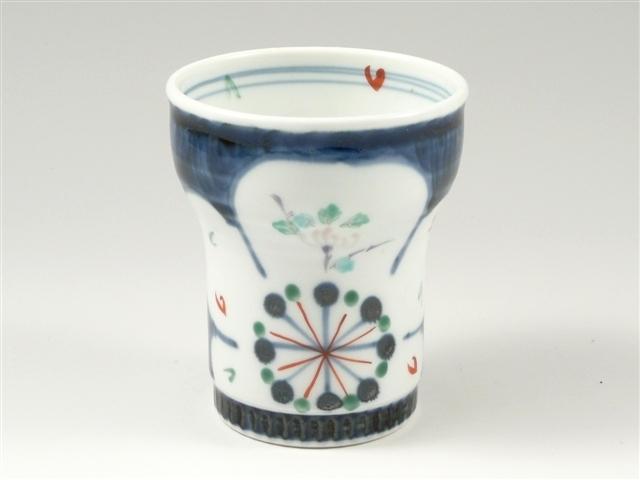 古代梅(青) キーポ焼酎カップ