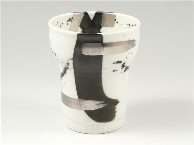 ゼブラ銀彩 キーポ焼酎カップ