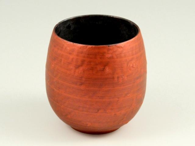 黒錆絞り雲赤 バルーンカップ