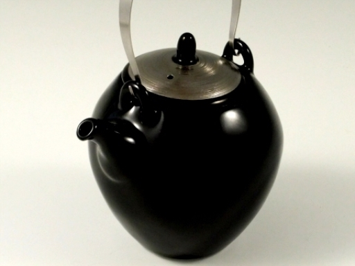 ブラックプラチナライン (U網)T土瓶(ステンレスツル付)