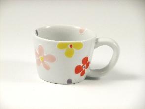 彩花(赤) ミニマグカップ
