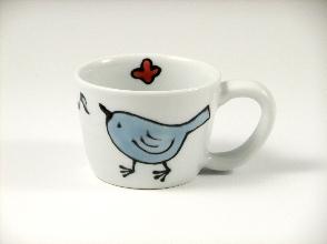 森の仲間たち(小鳥) ミニマグカップ