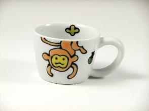 森の仲間たち(さる) ミニマグカップ