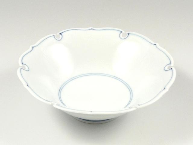 見込筋雪輪型 浅小鉢