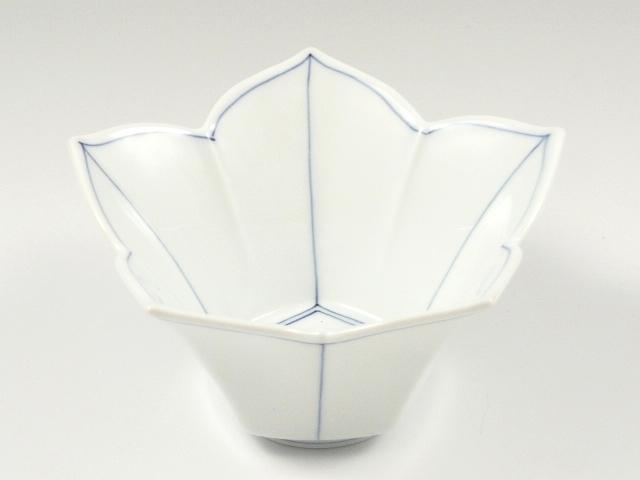 桔梗筋桔梗型(青) 小鉢