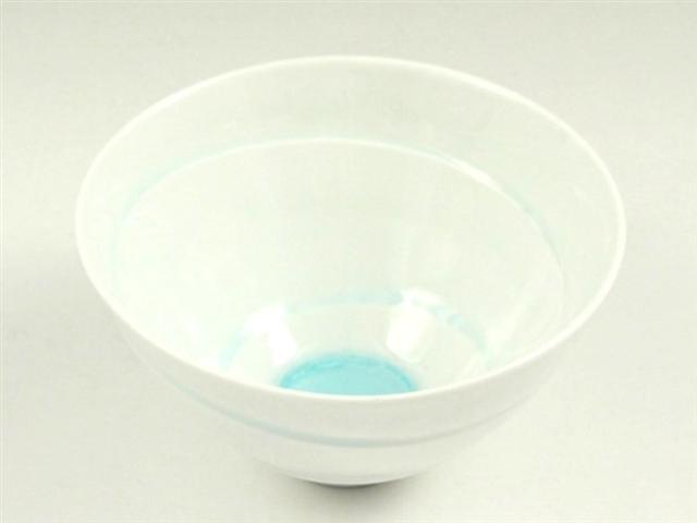 白ビードロ 水輪小鉢