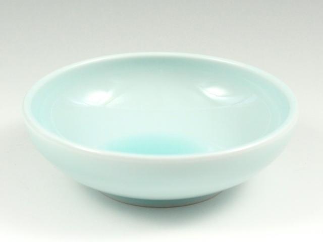 青白磁 平小鉢