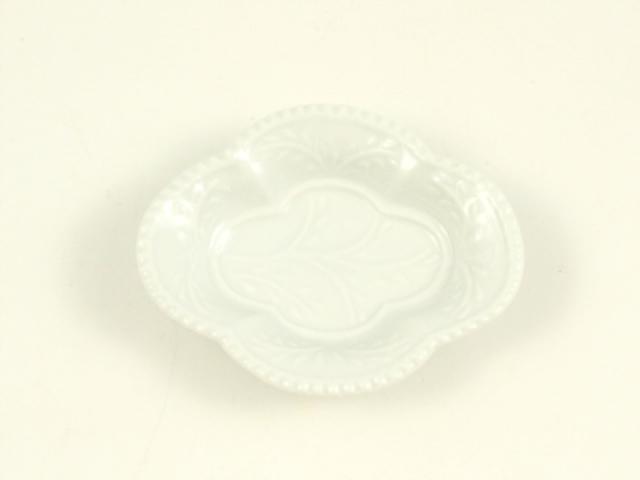 白磁 木瓜型手塩皿
