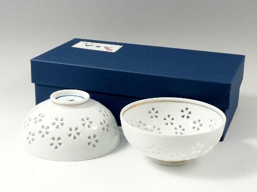 水晶花詰 組茶碗