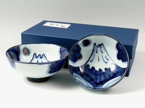 富士山 組茶碗