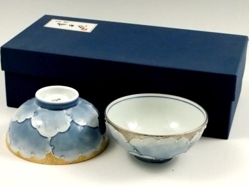 金牡丹・プラチナ牡丹 組茶碗