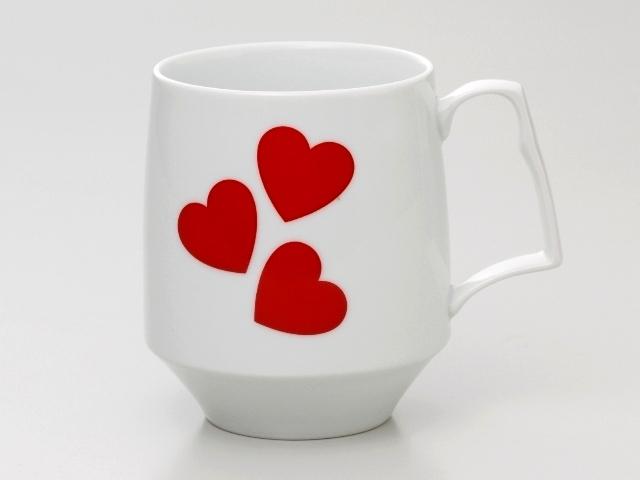 LOVE モーニングマグカップ