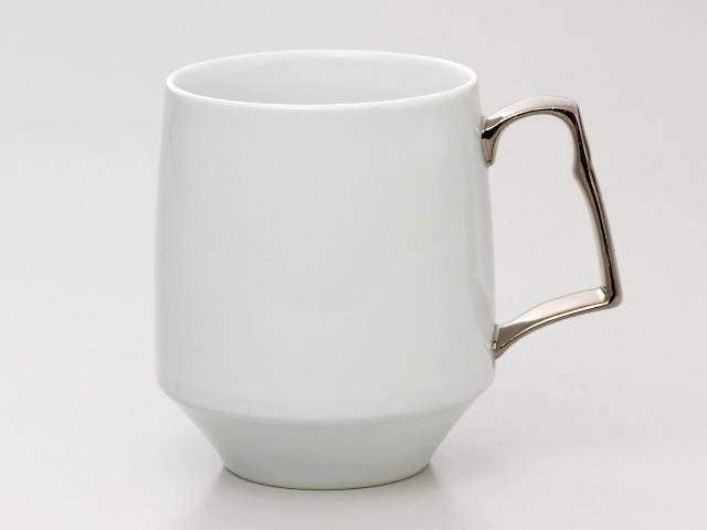 クロムホワイト モーニングマグカップ