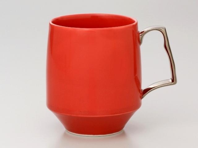 クロムレッド モーニングマグカップ