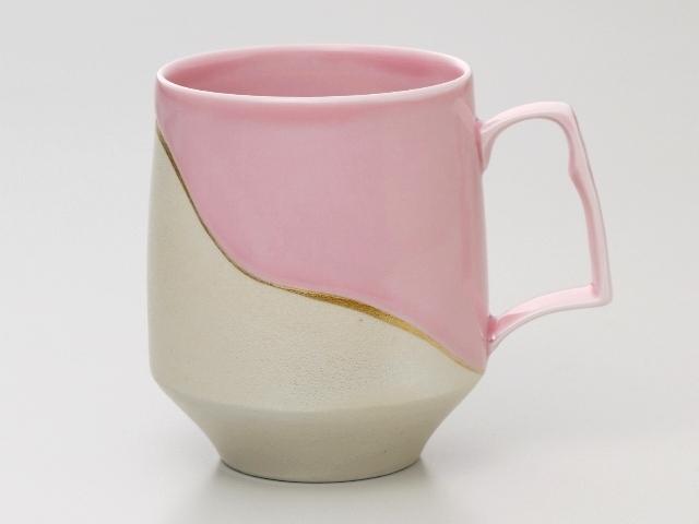 パールシーピンク モーニングマグカップ
