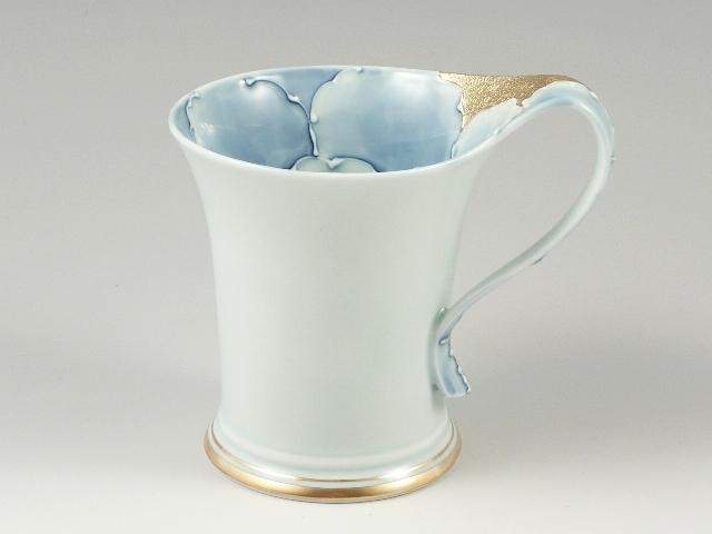 金牡丹流転型 マグカップ