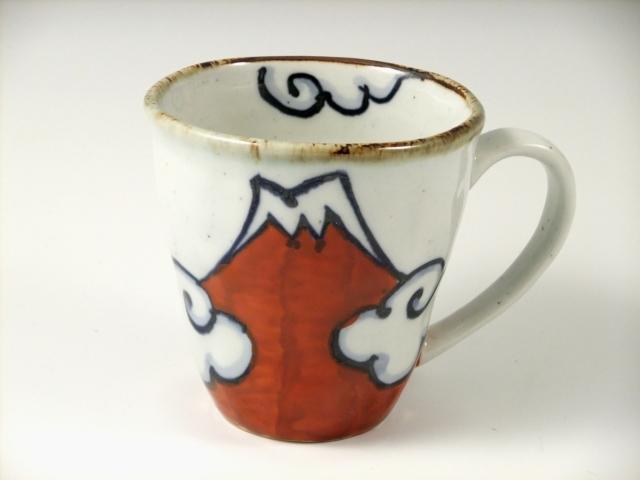赤富士 マグカップ