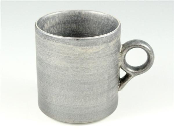 晶雲母銀 マグカップ