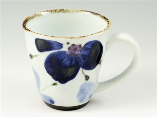 花々(青) マグカップ