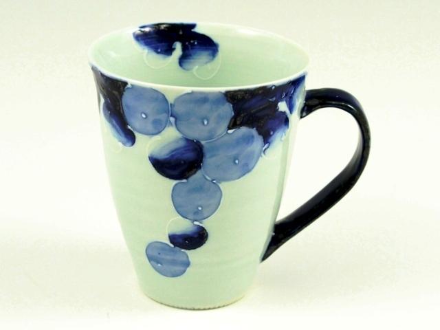 染ぶどう(青) マグカップ