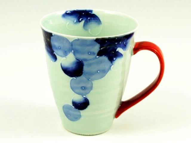 染ぶどう(赤) マグカップ